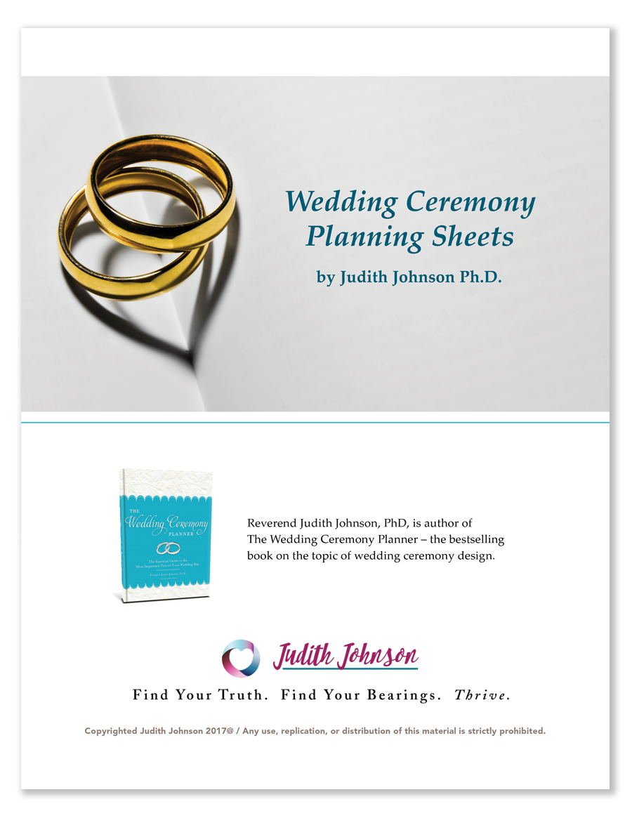 wedding-ceremony-worksheets